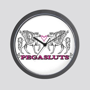 Pegasluts Wall Clock