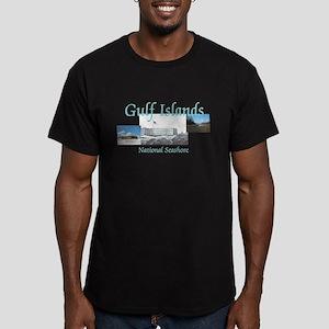 ABH Gulf Islands Men's Fitted T-Shirt (dark)