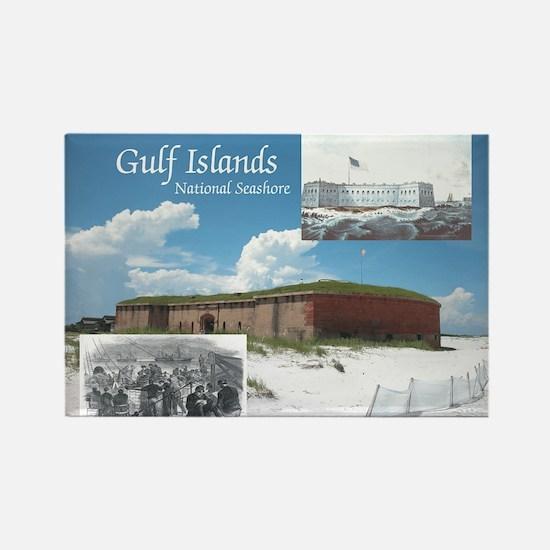 ABH Gulf Islands Rectangle Magnet