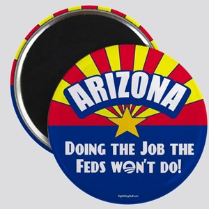 """Doing Job the Feds Won't Do 2.25"""" Magnet (10 pack)"""