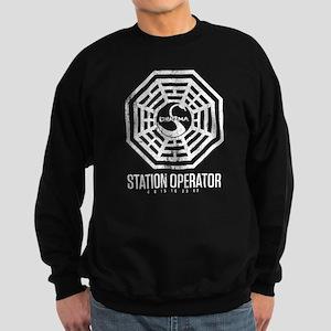 Swan Station Operator Sweatshirt (dark)