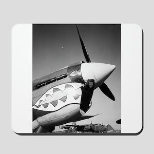 P-40 Showing Teeth Mousepad