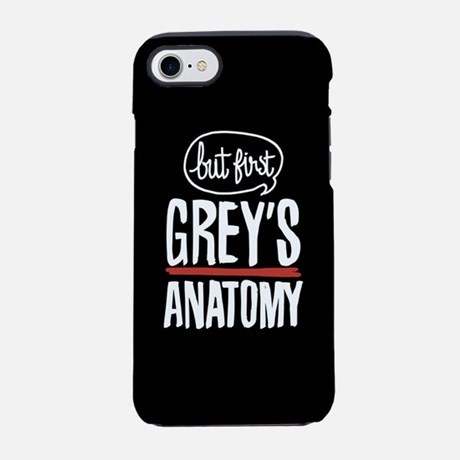 But First Grey's Anatomy iPhone Case