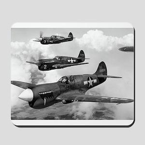P-40 Squadron Mousepad