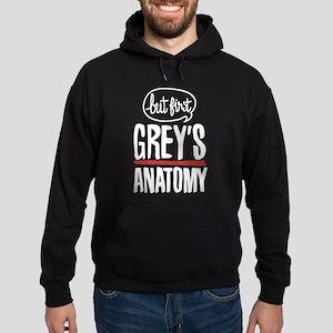 But First Grey's Anatomy Hoodie (dark)