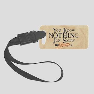 GOT You Know Nothing Jon Snow Luggage Tag