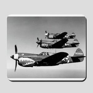 P-40 Squad Having Fun Mousepad