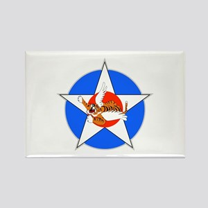 Air Force Flying Tigers Rectangle Magnet