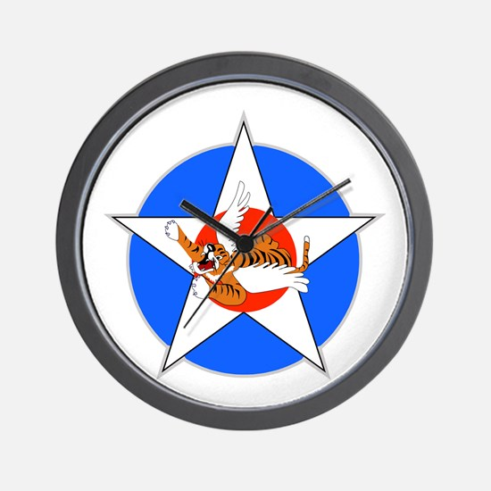 Air Force Flying Tigers Wall Clock