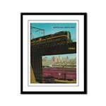 PENNA. RAILROAD 1960 Cover Framed Panel Print