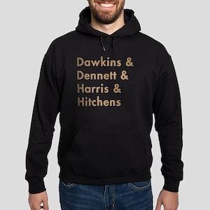 Dawkins & Dennett & Harris & Hoodie (dark)