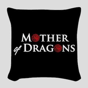 GOT Mother Of Dragons Woven Throw Pillow