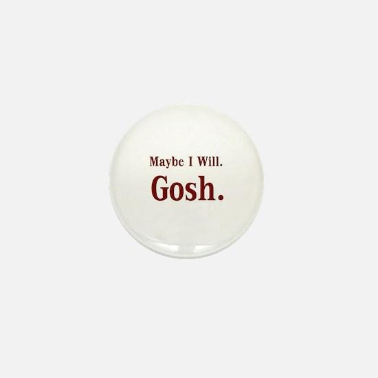 Cute Gosh Mini Button