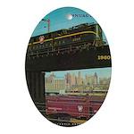 PENNA. RAILROAD 1960 Cover Oval Ornament