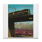 PENNA. RAILROAD 1960 Cover Tile Coaster