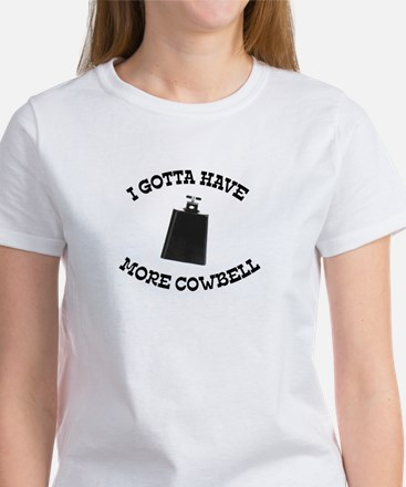 More Cowbell Ash Grey T-Shirt