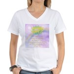 Namaste Women's V-Neck T-Shirt