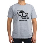 Check Engine Light - Men's Fitted T-Shirt