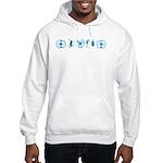 Fringe Glyphs Hooded Sweatshirt