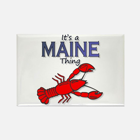 It's a Maine Thing - Lobster Rectangle Magnet