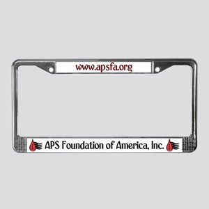 APSFA License Plate Frame