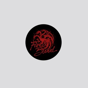 GOT Targaryen Fire And Blood Mini Button