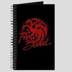 GOT Targaryen Fire And Blood Journal