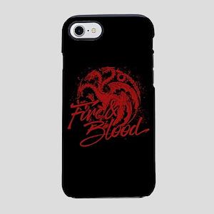 GOT Targaryen Fire And Blood iPhone 7 Tough Case