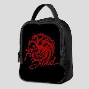 GOT Targaryen Fire And Blood Neoprene Lunch Bag