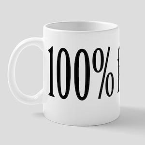 100% Fraternity Free Mug