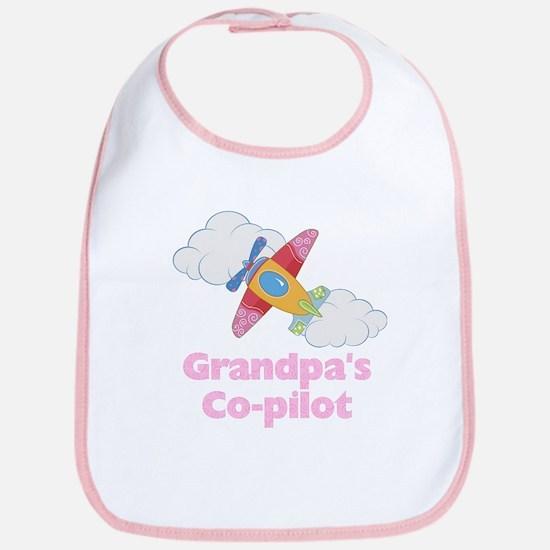 Grandpa's Copilot (girl) Bib
