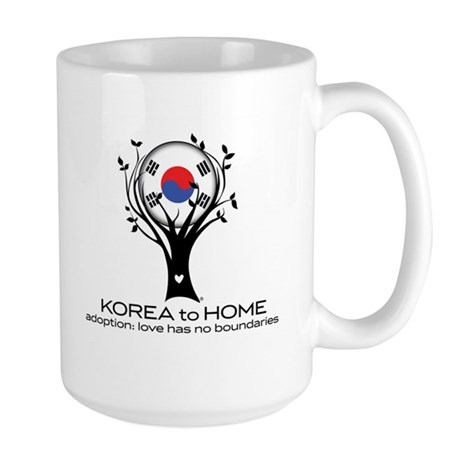 Korea to Home Large Mug