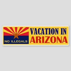 BEST VACATION IN USA Sticker (Bumper)