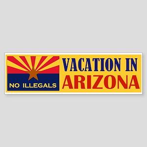 BEST VACATION IN USA Sticker (Bumper)