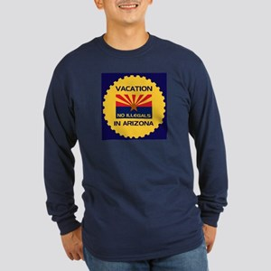 BEST VACATION IN USA Long Sleeve Dark T-Shirt