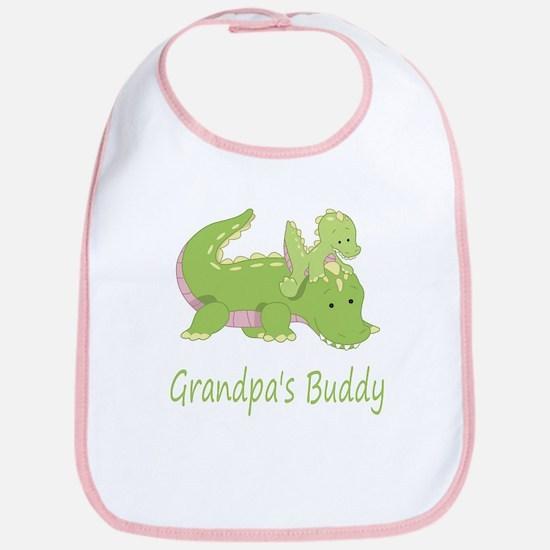 Grandpa's Buddy (Alligator) Bib
