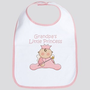 Grandpa's Little Princess Bib
