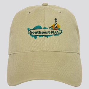 Southport NC - Lighthouse Design Cap