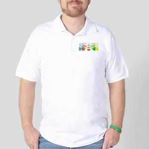Bright Chromatic Jeep Golf Shirt