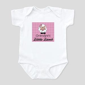 Grandpa's Little Lamb (Girl) Infant Bodysuit