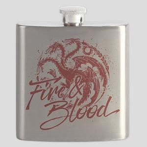 GOT Targaryen Fire And Blood Flask