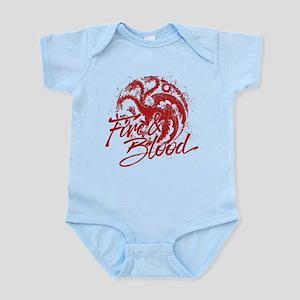 GOT Targaryen Fire And Blood Body Suit