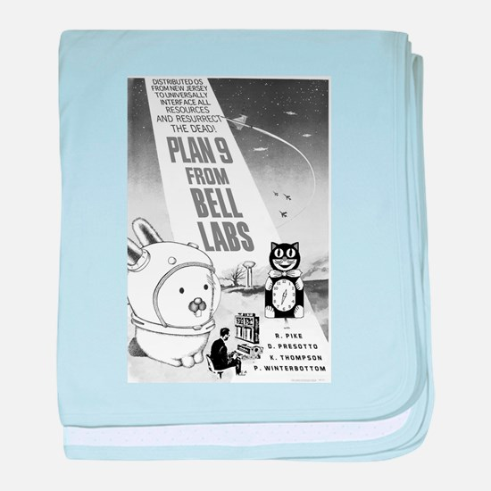 plan9 from bell labs baby blanket