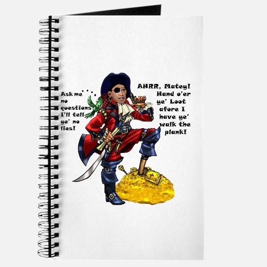 Obama Pirate - Hand O'er Ye Loot Journal