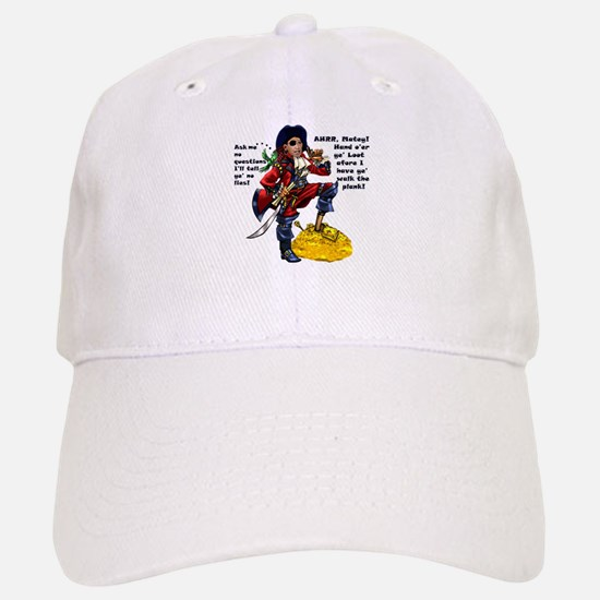 Obama Pirate - Hand O'er Ye Loot Baseball Baseball Cap