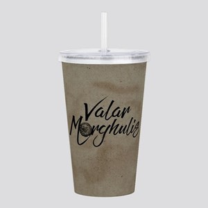 GOT Valar Morghulis Acrylic Double-wall Tumbler