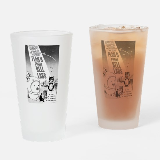 plan9 from bell labs Drinking Glass