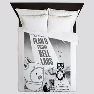 plan9 from bell labs Queen Duvet