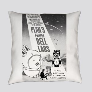 plan9 from bell labs Everyday Pillow