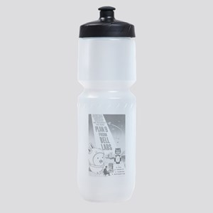 plan9 from bell labs Sports Bottle